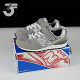 New Balance 996 Kids Grey Strap (BNWB)