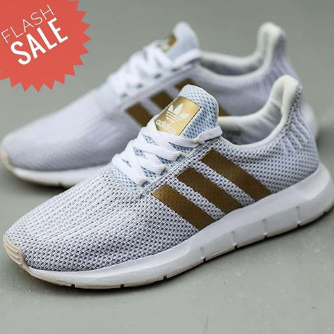 Adidas Swift run White Gold (BNWB)