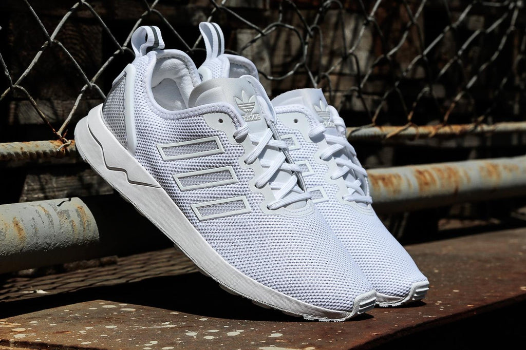 special for shoe in stock discount sale Adidas ZX FLUX ADV Pure White( 42 2/3, 43 1/3)