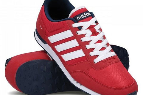 competitive price 5a71e d10d0 Adidas Neo City Racer Red White (42 2 3)