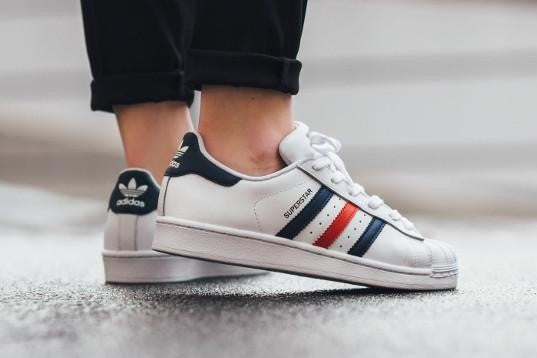 check out 49b41 81b88 Adidas Superstar Foundation White France (Size Men Complete)