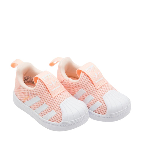 ADIDAS SUPERSTAR 360 I SHOCK PINK KIDS ( 3K HINGGA 9K )