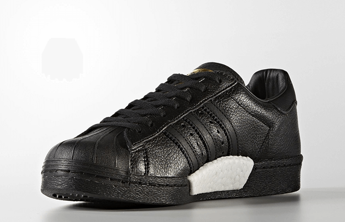 online store bf388 b1f88 Adidas Superstar Leather Triple Black (Size Men Complete)