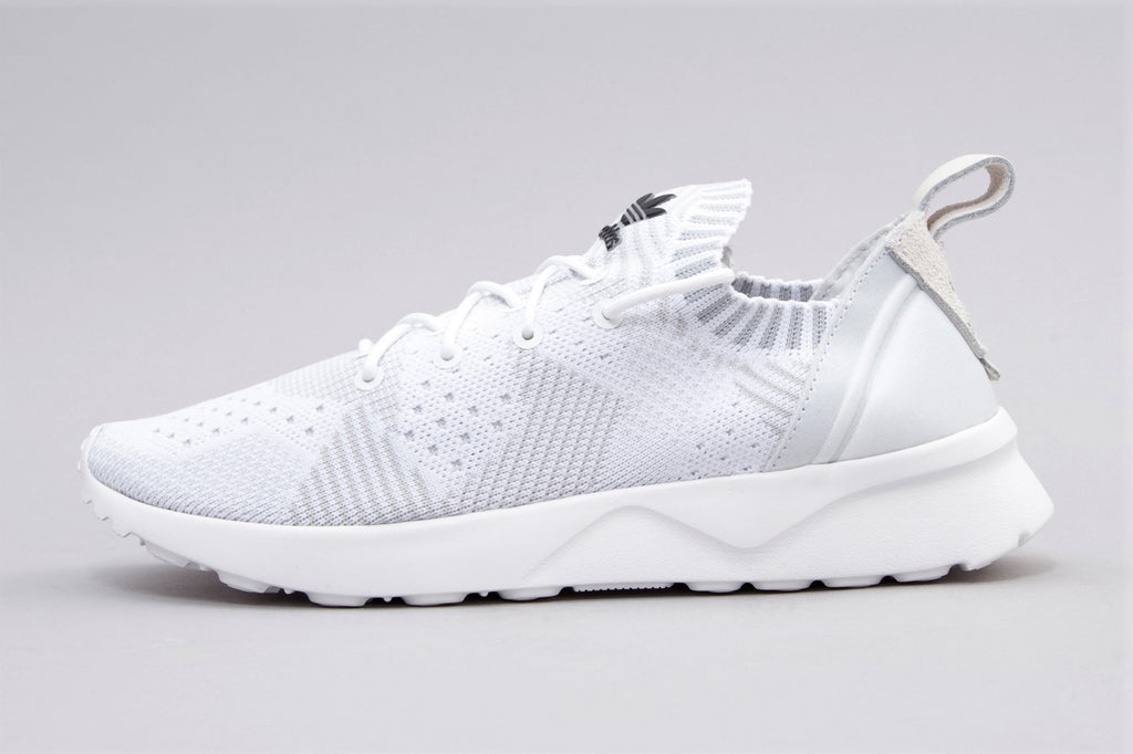 new style 30a78 a311d Adidas ZX Flux ADV Virtue Primeknit White ( SIZE 38 )