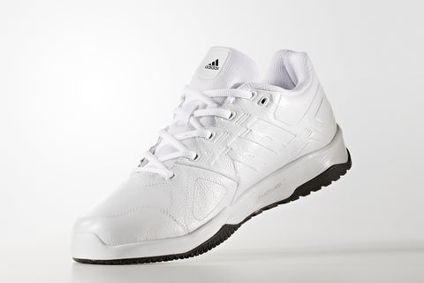 ADIDAS DURAMO 8 LEATHER WHITE ( 40 2/3 SAMPAI 46 )