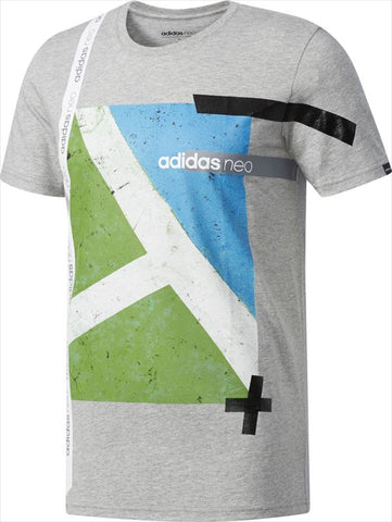 ADIDAS M GRAPHIC T GREY