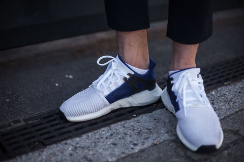 ADIDAS EQT SUPPORT PURE WHITE (36 2/3, 38, 38 2/3)