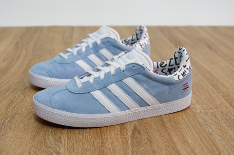 Adidas Gazelle II ice Blue  ||  (36, 37 1/3, 38, 38 2/3, 39 1/3, 40)