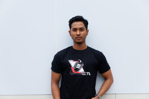 3F Sneakers Tees Super Light Black  (S - M - L - XL)
