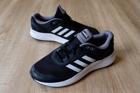 Adidas Cloudfoam Fluid Race Black White