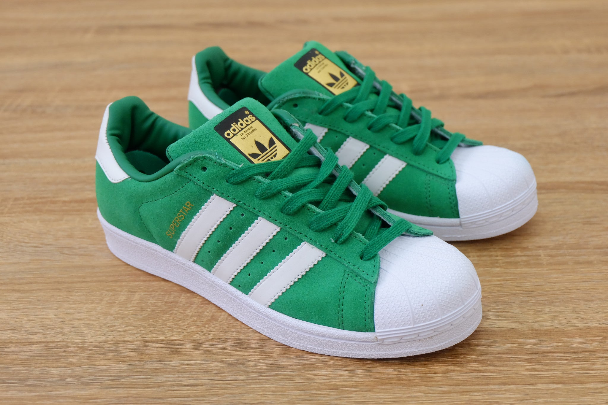 Adidas Superstar Suede Green