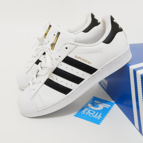 Adidas Superstar Foundation White Black BNWB - 36 sampai 44 Lengkap