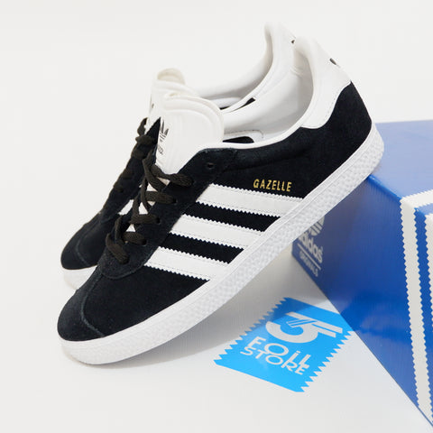 finest selection 1e9e3 7692b Adidas Gazelle II Black White BNWB - 36 13 , 37 13