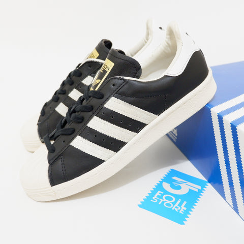 Adidas Superstar 80's Black White BNWB - (43 1/3 , 44)