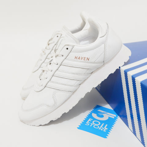 Adidas Haven Trainer Leather White BNWB