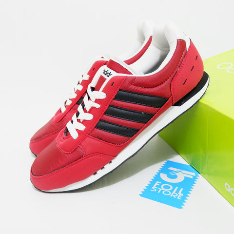 Adidas Neo City Racer Core Red Black BNWB - 40 2/3 , 41 1/3 , 42 , 42 2/3 , 43 1/3