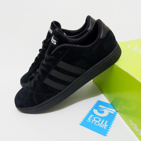 Adidas Neo Baseline Blackout Suede BNWB - Size Complete