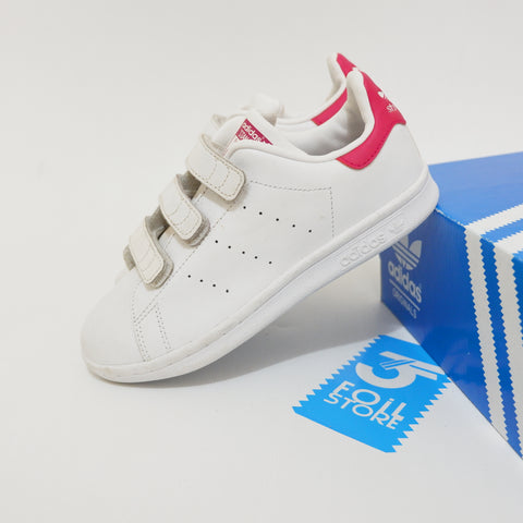 Adidas Stan smith Strap White Pink - 33