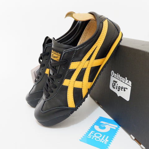 Onitsuka Tiger Black Yellow (BNIB) - (40, 40.5)