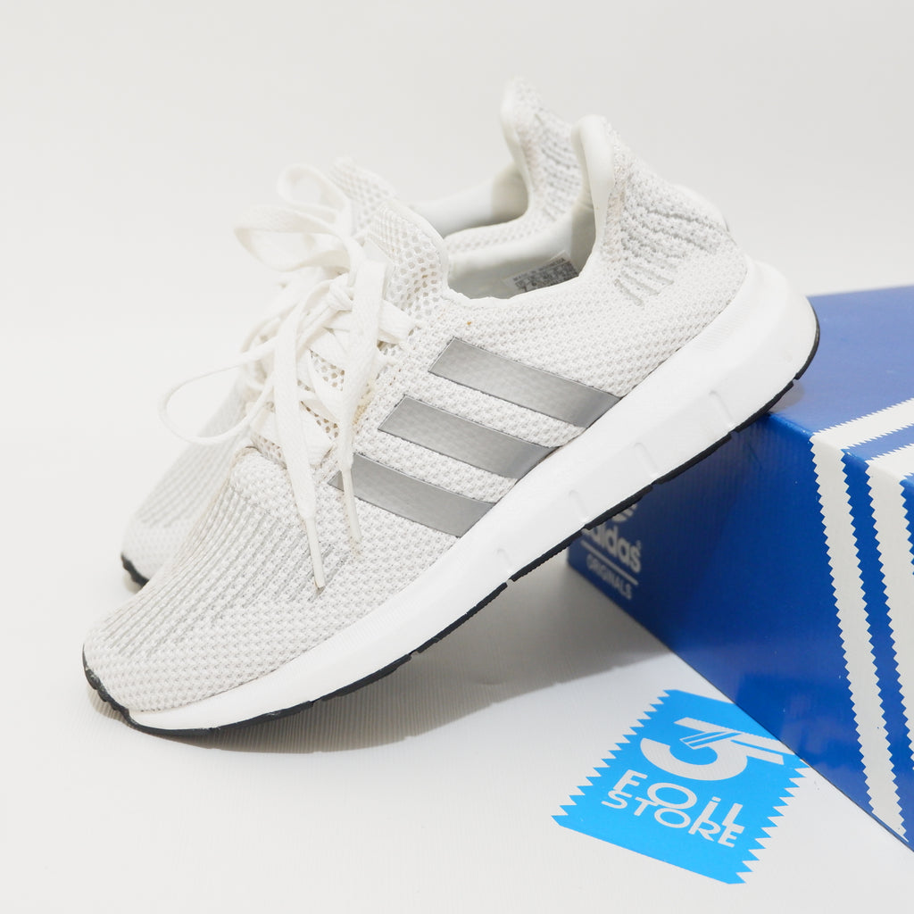 get cheap factory outlets wholesale Adidas Swift Run White Silver BNWB - 40 2/3 , 41 1/3 , 42 , 42 2/3 , 43 1/3  , 44