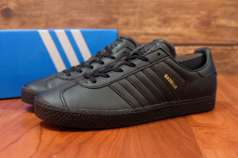 Adidas Gazelle II Leather Black  ||  (35 - 39)