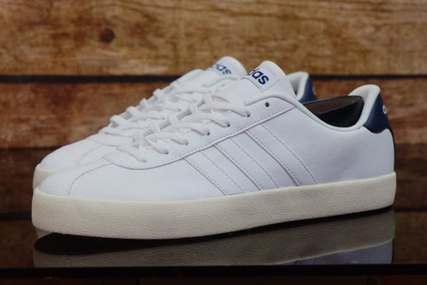 Adidas NEO Court VL White leather   ||  (Size Men Complete)
