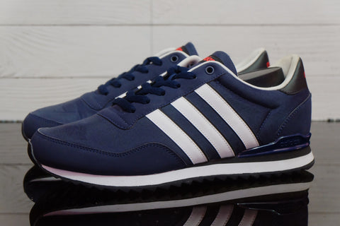 Adidas NEO Jogger Leather Navy   ||  (Sold Out)