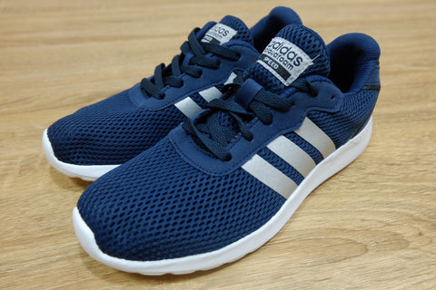 Adidas Cloudfoam Speed Navy Silver || (Size Men Complete)