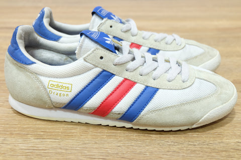 (USED) Adidas Men Dragon Classic White France - (Sold Out)