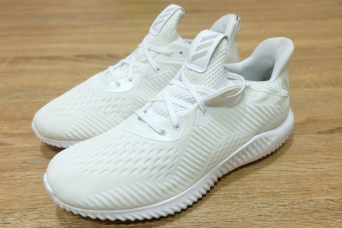 Adidas AlphaBounce Vanilla All White  ||  (40 2/3, 41 1/3)