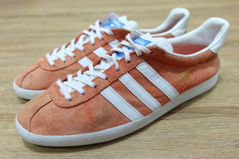 (USED) Adidas Original Gazelle Classic Orange || (Sold Out)