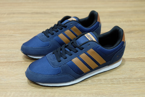 Adidas Neo City Racer Navy Brown  || (Size Men Complete)