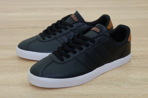 Adidas NEO Court VL Black leather   ||  (Sold Out)