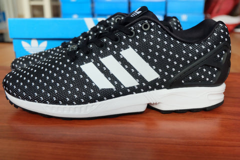 Adidas ZX Flux Black White Prism