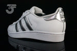 Adidas Superstar White Silver - (39 1/3 dan 40)