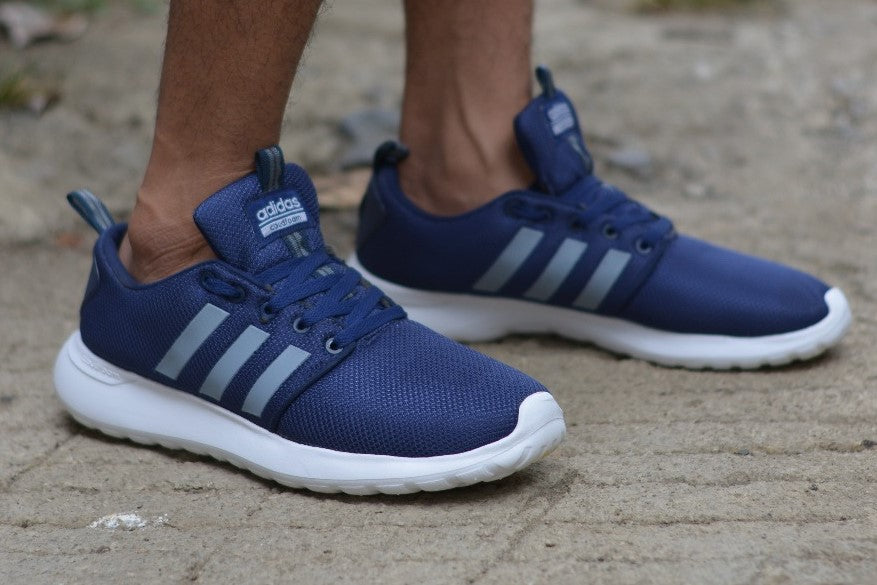 adidas cloudfoam swift racer navy