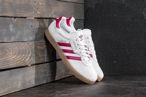 Adidas Gazelle Super White Red