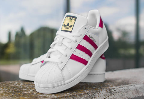Adidas Superstar Foundation White Pink ||  (36, 36 2/3, 37 1/3, 38, 38 2/3, 39 1/3, 40)