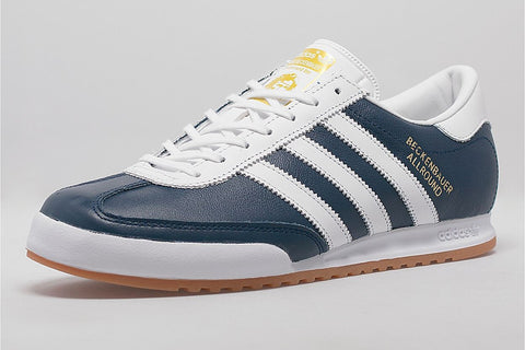 adidas beckenbauer navy leather (size men complete)