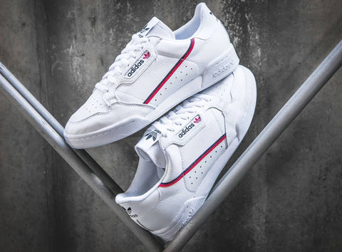 Adidas Continental 80 Core White (BNWB) (Size Men & Women Complete)