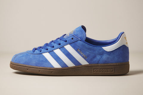 Adidas Munchen Royal Blue Gum (Size Men Complete)