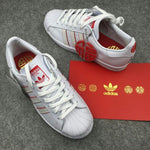 Adidas Superstar 80s CNY White