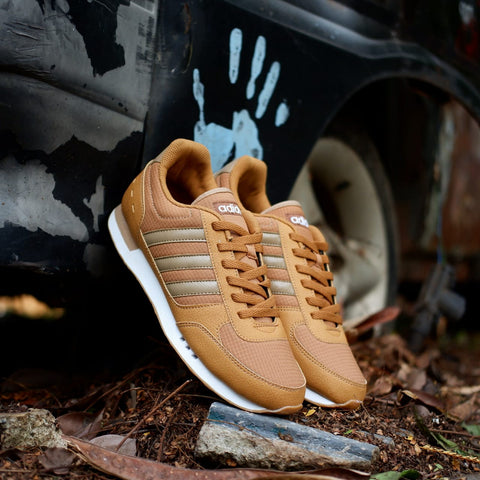 Adidas Neo City Racer Brown Wood Gum  || (Size Men Complete)