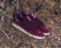 Adidas STAN SMITH Burgundy suede (BNIB)