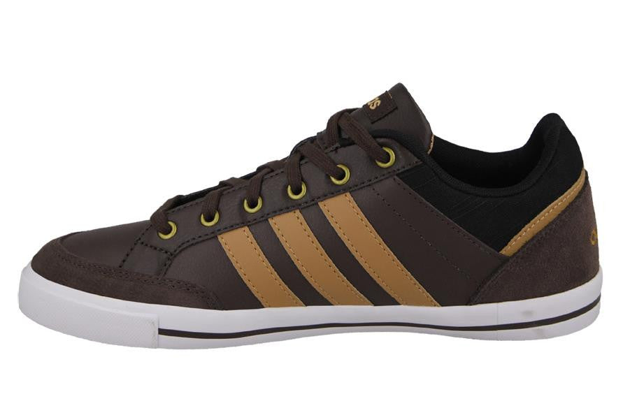new arrival d69e7 d2a52 Adidas Neo Cacity Brown Leather- ( SIZE 42)