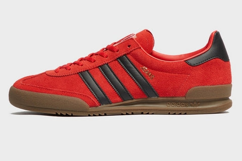 Adidas JEANS Red Black Gum  ||  (39 1/3, 40 2/3, 42, 43 1/3, 44 2/3, 46)