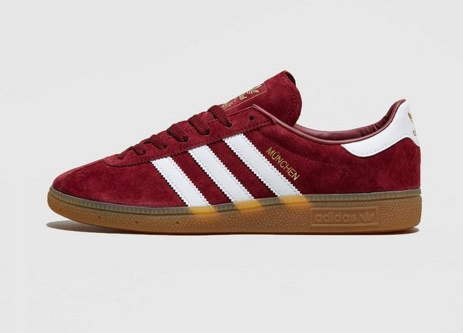 various colors thoughts on shopping Adidas Munchen Burgundy Maroon || (39 1/3, 40 2/3, 41 1/3, 42, 43 1/3, 46)