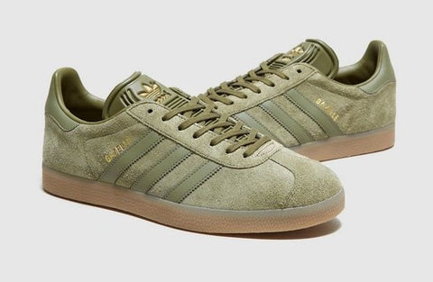 Adidas Originals Gazelle Base Green  ||  (Size Men Complete)