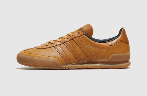 Adidas Originals JEANS Leather Brown ||  (Size Men Complete)