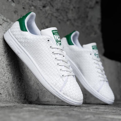 Adidas stansmith weave white